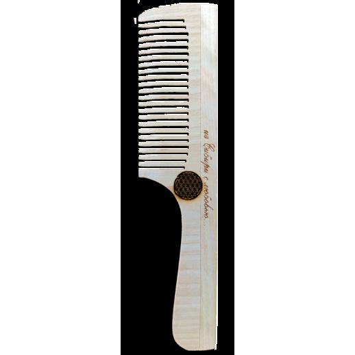 Flower of Life Birch Comb